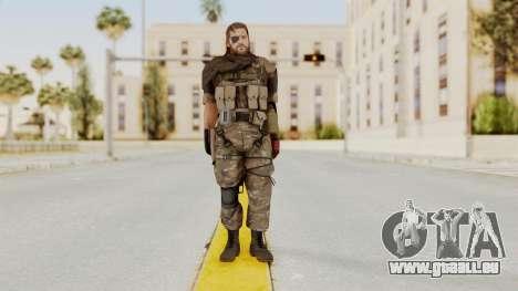 MGSV The Phantom Pain Venom Snake Scarf v9 pour GTA San Andreas deuxième écran