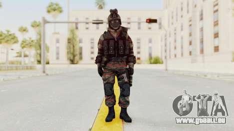 Battery Online Russian Soldier 5 v1 pour GTA San Andreas deuxième écran