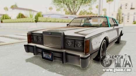 GTA 5 Dundreary Virgo Classic Custom v2 pour GTA San Andreas vue de dessous