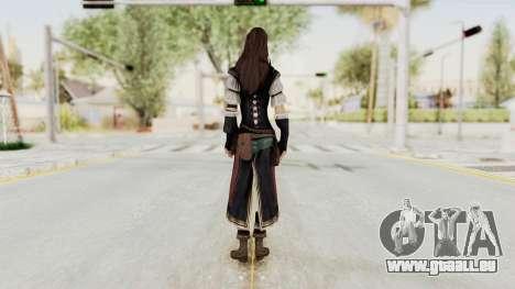 AC Brotherhood - Courtesan Elite Costume pour GTA San Andreas troisième écran