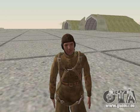 Pak Kämpfer der roten Armee für GTA San Andreas neunten Screenshot
