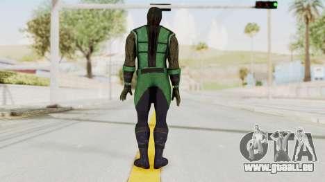 Mortal Kombat X Klassic Reptile für GTA San Andreas dritten Screenshot