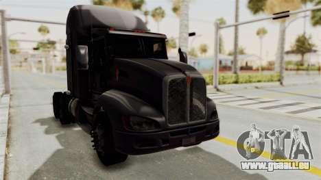Kenworth T660 Sleeper für GTA San Andreas rechten Ansicht