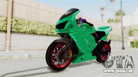 Kawasaki Ninja 250R Race pour GTA San Andreas