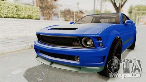 GTA 5 Vapid Dominator v2 IVF pour GTA San Andreas