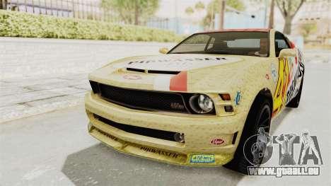 GTA 5 Vapid Dominator v2 IVF für GTA San Andreas Innenansicht