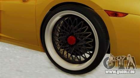 Lamborghini Gallardo 2005 pour GTA San Andreas vue arrière