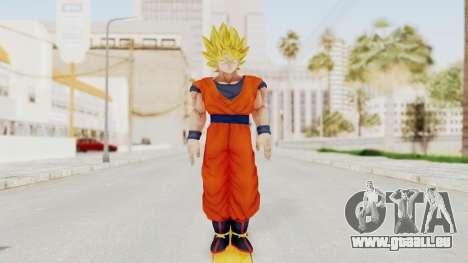 Dragon Ball Xenoverse Goku SSJ1 für GTA San Andreas zweiten Screenshot