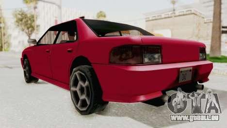 Kartin Sultan RS pour GTA San Andreas vue de droite