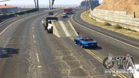 GTA 5 Simple Ramp Spawner With Speed Boost 0.3 cinquième capture d'écran