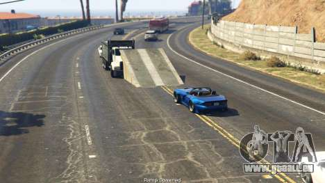 GTA 5 Simple Ramp Spawner With Speed Boost 0.3 fünfter Screenshot