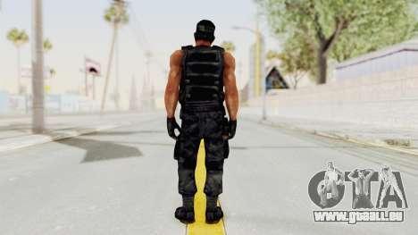 Rambo pour GTA San Andreas troisième écran