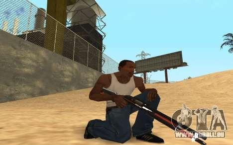 Shotgun Cyrex pour GTA San Andreas quatrième écran