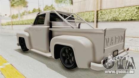 GTA 5 Slamvan Race für GTA San Andreas linke Ansicht