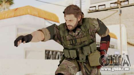MGSV The Phantom Pain Venom Snake No Eyepatch v6 für GTA San Andreas