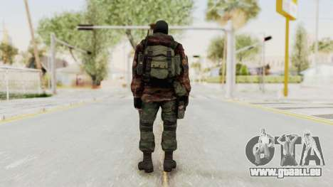 Battery Online Russian Soldier 8 v2 für GTA San Andreas dritten Screenshot