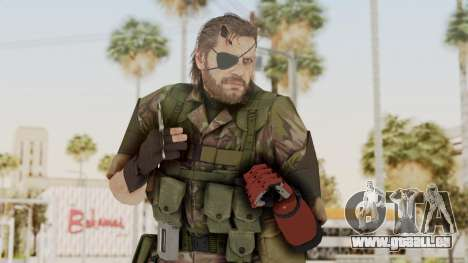 MGSV The Phantom Pain Venom Snake Woodland pour GTA San Andreas