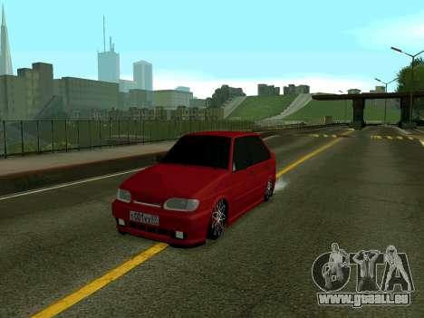 VAZ 2114 KBR pour GTA San Andreas