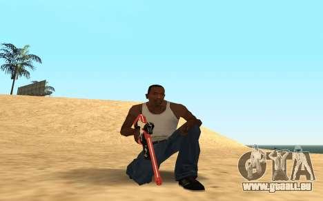 Rifle Cyrex für GTA San Andreas her Screenshot