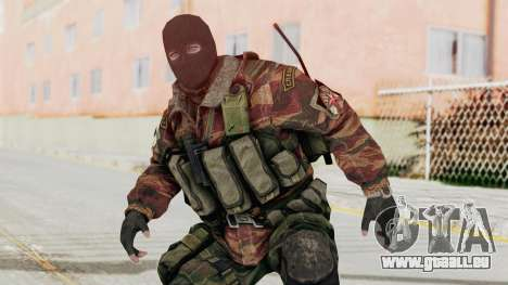 Battery Online Russian Soldier 8 v2 für GTA San Andreas