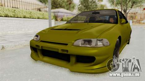 Honda Civic Fast and Furious für GTA San Andreas