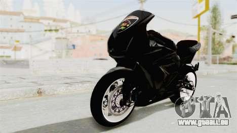 Kawasaki Ninja 250R Black Cobra RnB Anak Jalana pour GTA San Andreas