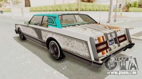 GTA 5 Dundreary Virgo Classic Custom v2 pour GTA San Andreas salon