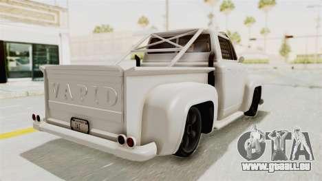 GTA 5 Slamvan Race für GTA San Andreas zurück linke Ansicht