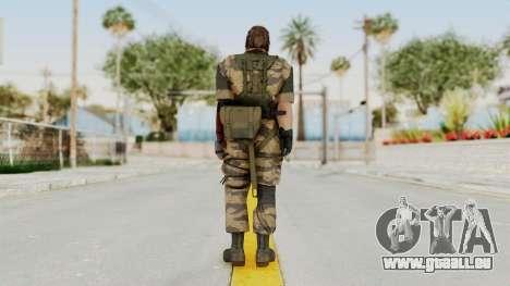 MGSV The Phantom Pain Venom Snake No Eyepatch v2 pour GTA San Andreas troisième écran