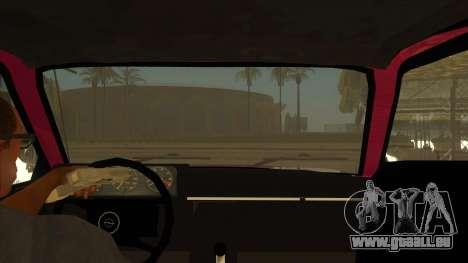 Opel Monza A1 pour GTA San Andreas vue intérieure