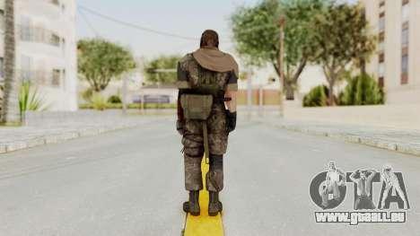 MGSV The Phantom Pain Venom Snake Sc No Patch v6 pour GTA San Andreas troisième écran