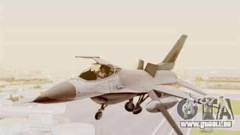 F-16 Fighting Falcon pour GTA San Andreas