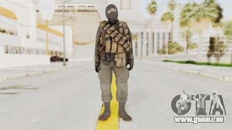 COD Black Ops Russian Spetznaz v1 pour GTA San Andreas deuxième écran