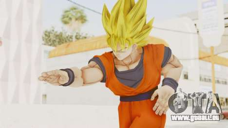 Dragon Ball Xenoverse Goku SSJ1 pour GTA San Andreas