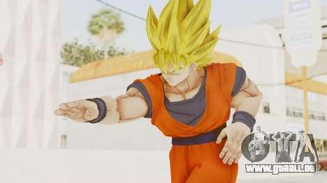 Dragon Ball Xenoverse Goku SSJ1 für GTA San Andreas