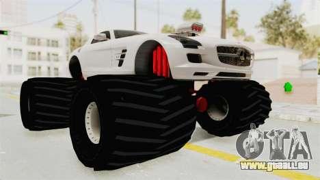 Mercedes-Benz SLS AMG 2010 Monster Truck für GTA San Andreas rechten Ansicht