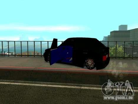 VAZ 2114 KBR für GTA San Andreas Rückansicht