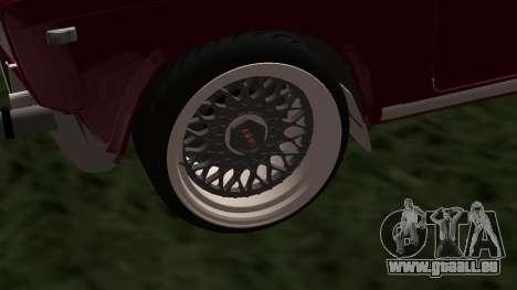 2107 JDM pour GTA San Andreas sur la vue arrière gauche