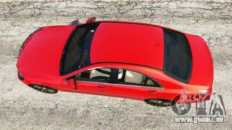 GTA 5 Mercedes-Benz S500 (W222) [bridgestone] v2.1 Rückansicht