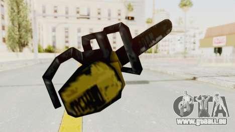 Liberty City Stories Chainsaw pour GTA San Andreas troisième écran