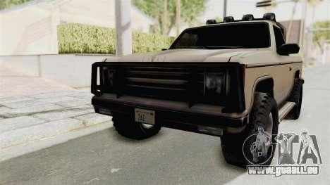 Rancher Style Bronco für GTA San Andreas