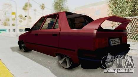 Renault Broadway pour GTA San Andreas laissé vue