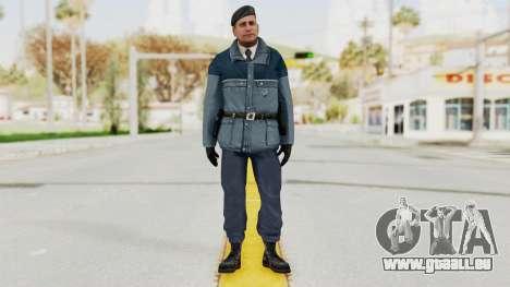 Bourne Conspirancy Zurich Police v2 pour GTA San Andreas deuxième écran