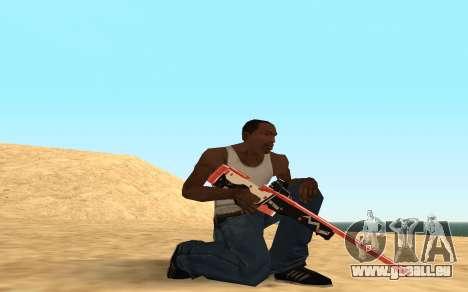 Rifle Cyrex für GTA San Andreas sechsten Screenshot