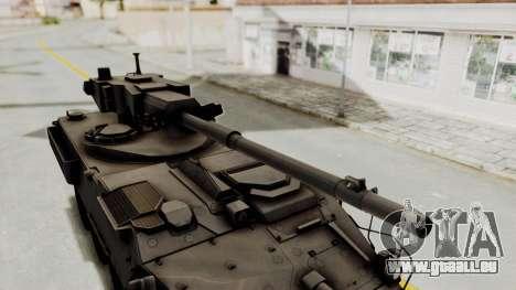 M1128 Mobile Gun System IVF für GTA San Andreas Rückansicht