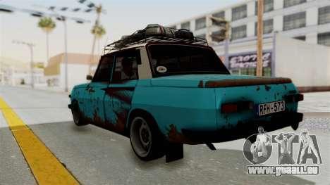 Wartburg 353 Rat Style pour GTA San Andreas laissé vue