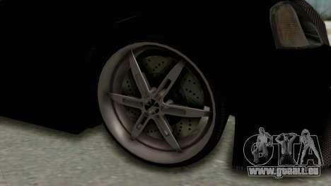 Dacia Logan Loco Tuning für GTA San Andreas Rückansicht