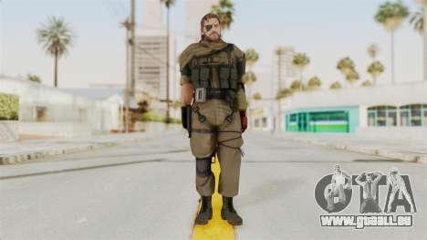 MGSV The Phantom Pain Venom Snake Scarf v1 für GTA San Andreas zweiten Screenshot