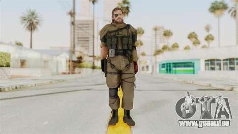 MGSV The Phantom Pain Venom Snake Scarf v1 für GTA San Andreas zweiten Screenshot