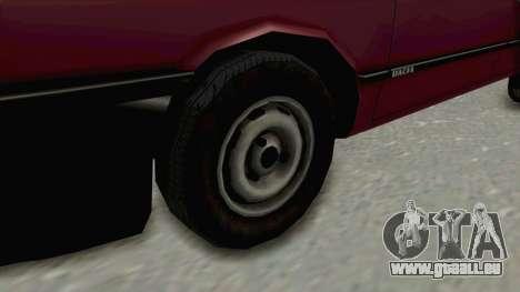 Dacia 1310L 1997 pour GTA San Andreas vue arrière